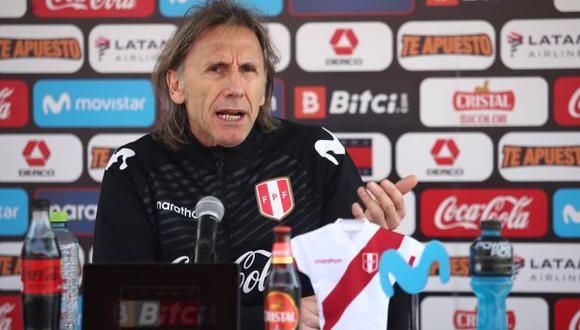 Ricardo Gareca habló tras el Perú vs. Bolivia por las Eliminatorias. (Foto: FPF)
